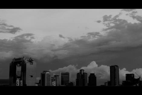 nuages horizon