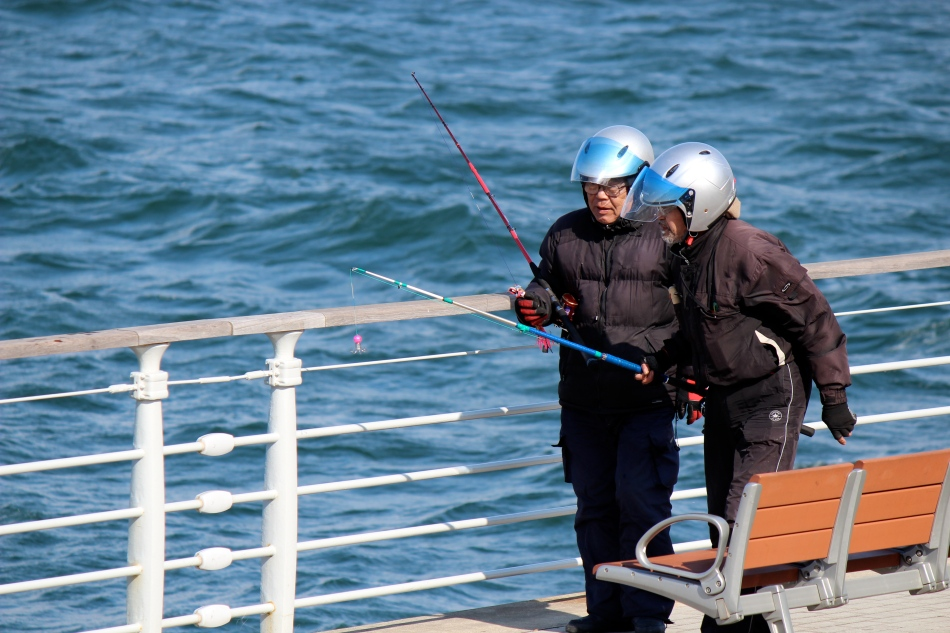 motards pêcheurs